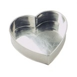 "6"" Inch Invicta Heart  Tin"