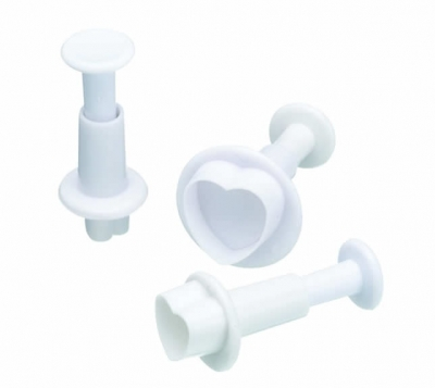 Kitchencraft Heart Plunger Cutters