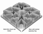 16 Mini Heart Cake Pan