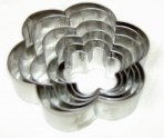 Windsor Large Petal Cutters Set Of 6