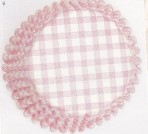 CULPITT Pink Gingham Baking Cases