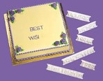 WILTON Message Pattern Press Set
