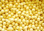 Windsor Cake Academy 4mm Sugar Pearls Yellow