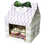 Flower Shop Large Cupcake Box Pk of 3