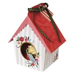 Small Birdhouse Cupcake Box Pk of 4