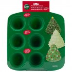 Wilton Christmas Tree Silicone Baking/Chocolate Mould