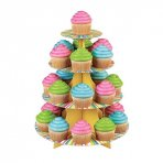 Wilton 4 Tier Colour Wheel Cupcake Stand Holds 24 Cupcakes