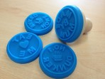 Home Made Cookie Stamps Set of 4