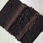 6 Inch Square Chocolate Sponge Cake (No Filling) Please Allow 1 Extra Working Day For Delivery