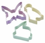 3 Piece Easter Cookie Cutter Set By Sweetly Does It