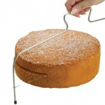 "Kitchencraft Sweetly Does It 16"" Cake Cutting Wire / Cake Leveller"