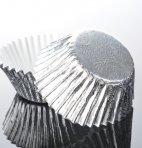 EASYBAKE 24 Silver Foil Muffin Cases