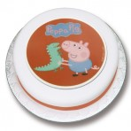 Georges Dinosaur Sugar Plaque