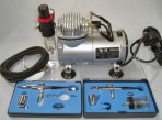 Airbrush Kit Including Compressor