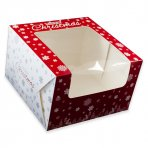 "Christmas Box 8"" (203mm) in New Christmas Design"