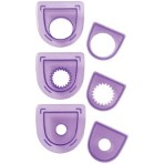 Wilton 3Pc Layered Circles Cutting Insert Set