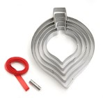 Eddingtons Christmas Bauble Tree Decoration Cookie cutters