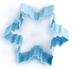 Eddingtons Blue Snowflake Cookie cutter