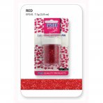 PME Red Edible Glitter Flakes
