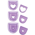 Wilton 3Pc Layered Heart Cutting Insert Set