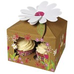 Little Garden Large Cupcake Box Pack of 3