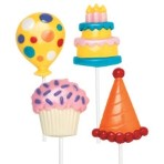 Party/Birthday Large Lollipop Mould
