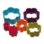 Colourworks Six Piece Flower Shaped Cookie Cutter Set