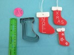 Windsor Christmas Stocking Cutter Set