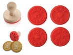 Cheeky Teaser Cookie Stamp Set of 4