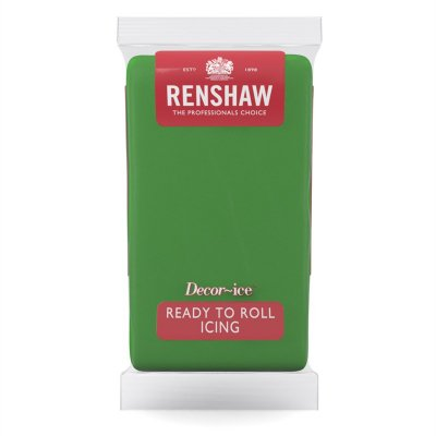 Renshaw 1kg Ready to Roll Fondant Icing - Lincoln Green