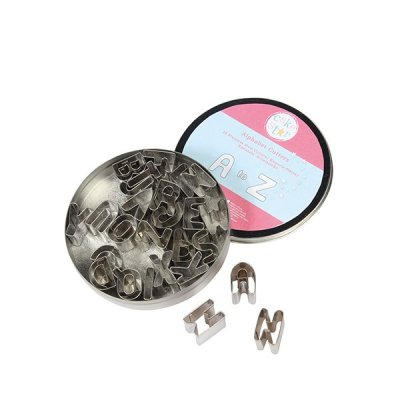 Cake Star Metal Alphabet Cutters