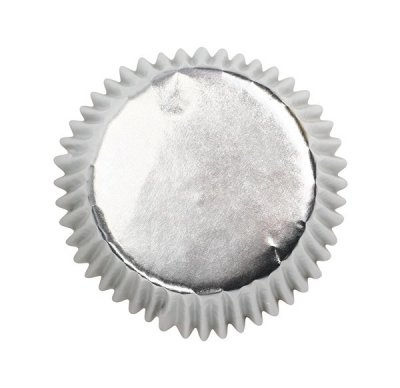 Silver Bulk Cupcake Cases 50mm Pack of 495