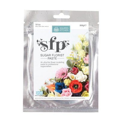 200G White Squires Kitchen Florist Paste