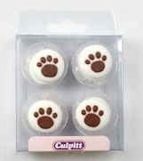 Pawprints Pipings Pack of 12