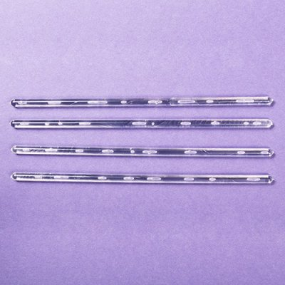 "8"" Clear Dowels 4 Pack"