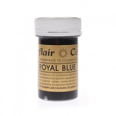Sugarflair Paste Colours - Royal Blue - 25g