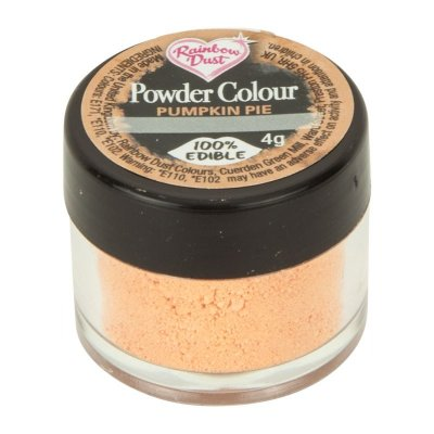 Rainbow Dust Powder Colour - Pumpkin Pie