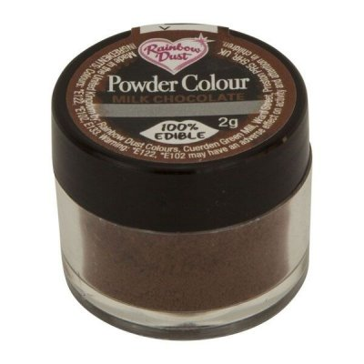 Rainbow Dust Powder Colour - Milk Chocolate
