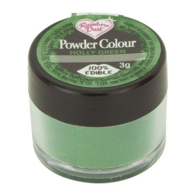 Rainbow Dust Powder Colour - Holly Green
