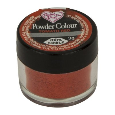 Rainbow Dust Powder Colour - Tomato Red