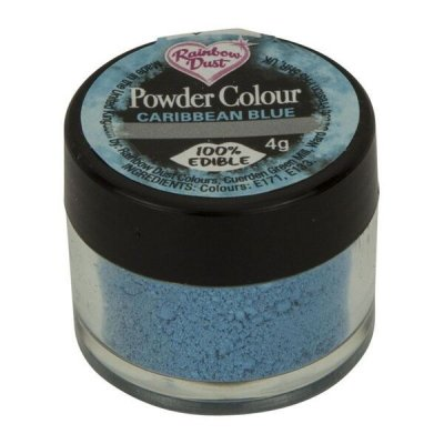 Rainbow Dust Powder Colour - Caribbean Blue