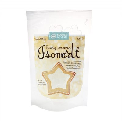 Squires Ready Tempered Isomalt 125g Clear