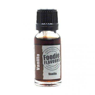 Foodie Flavours Vanilla Natural Flavouring 15ml