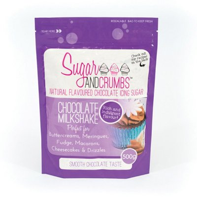 Sugar & Crumbs Chocolate Milkshake Icing Sugar 500g