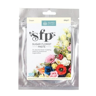 200G Cream Squires Kitchen Florist Paste