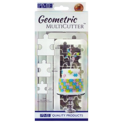 PME Geometric MultiCutter - Puzzle - Set of 3
