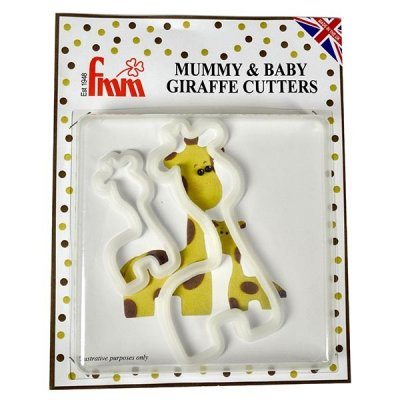 FMM Giraffe Mummy & Baby Cutters Set Of 2