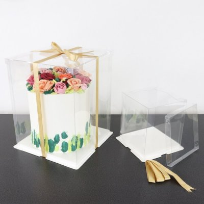 PME Crystal Cake Display Box 12""
