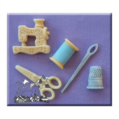 Alphabet Moulds - Sewing