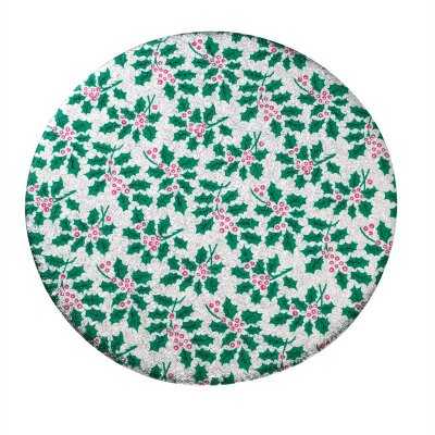 8 Inch Round Christmas Cake Board
